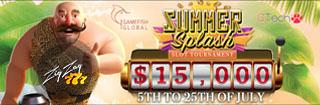 Выигрывай до €15,000 в новом турнире Summer Splash