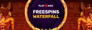 Водопад фриспинов от казино ПлейАмо
