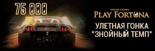 Знойный темп от казино Плей фортуна