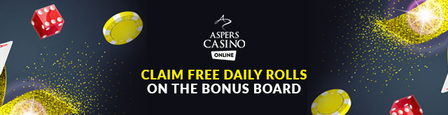 Aspers Casino Bonus board