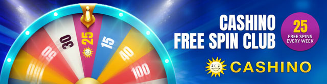 Cashino Free Spins